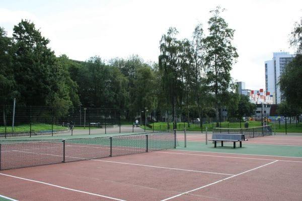 Kraaiennest Tennis Courts Amsterdam