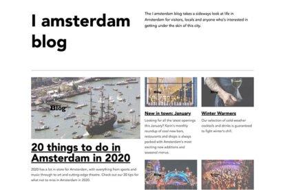 iAmsterdam blog