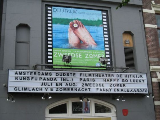 De Uitkijk – To the movies in a canal house
