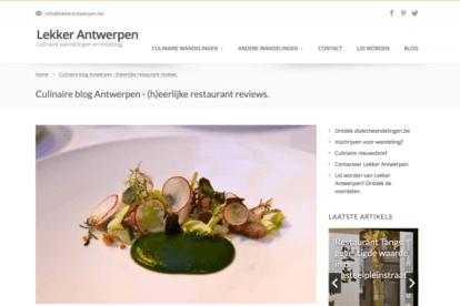 Lekker Antwerpen blogs
