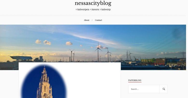 Nessascity blogs Antwerp