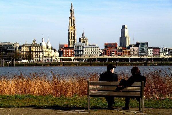 Antwerp skyline Antwerp