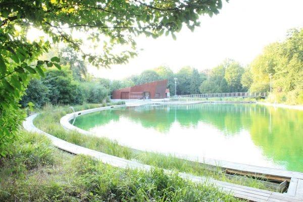Boekenberg swimming pond Antwerp