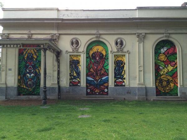 Urban art - Harmoniepark Antwerp