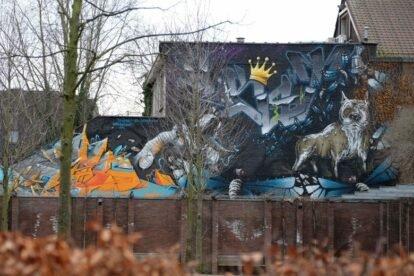 Urban art-Munthof Antwerp