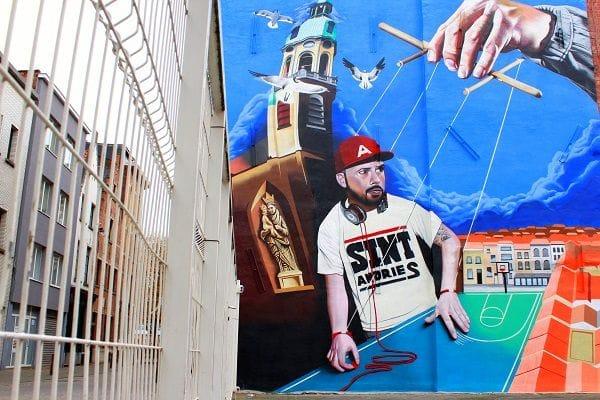 Urban art - Sint Andries Antwerp