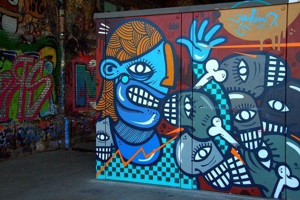Urban art - Spoor Noord Antwerp