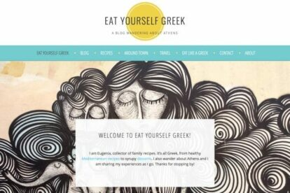 Eat Yourself Greek blog