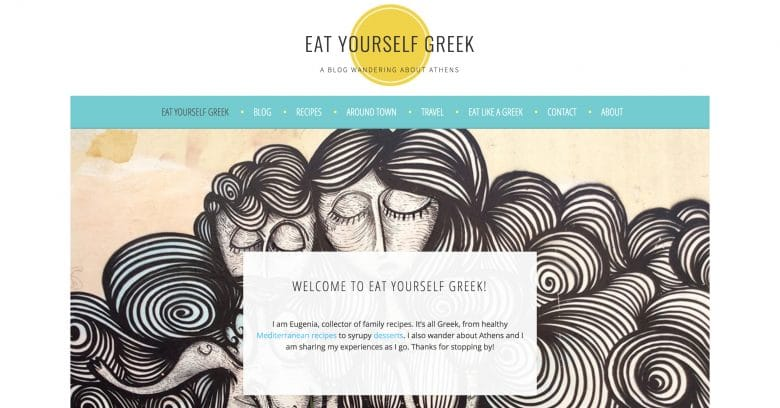 Eat Yourself Greek blog