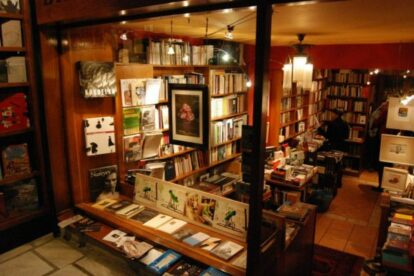 Bookshop Lemoni Athens