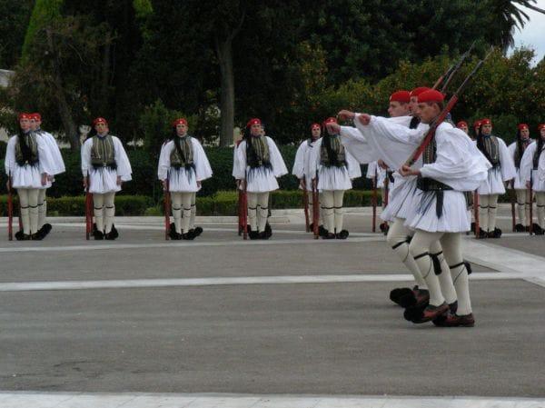 Evzones - Tsoliades Athens