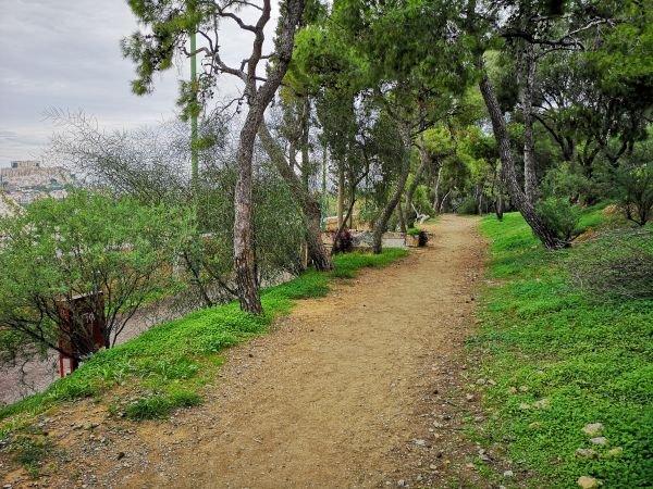 Kallimarmaro Running Path Athens