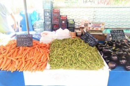 Kypseli Farmer's Market Athens