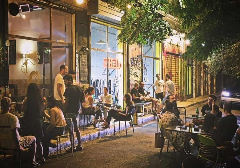 Melanthiou street Athens