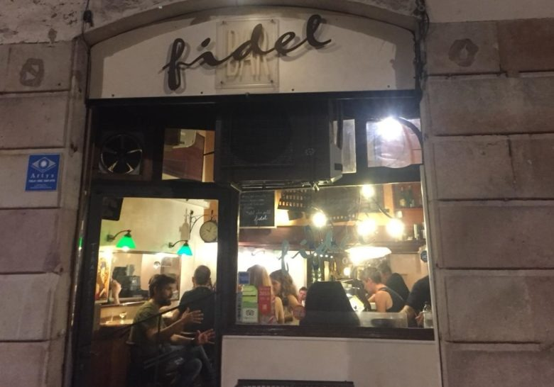 Bar Fidel Barcelona