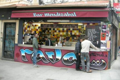 Bar Mendizabal Barcelona