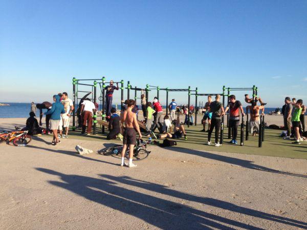 Beach Gym Barcelona