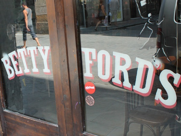 Betty Ford's Barcelona