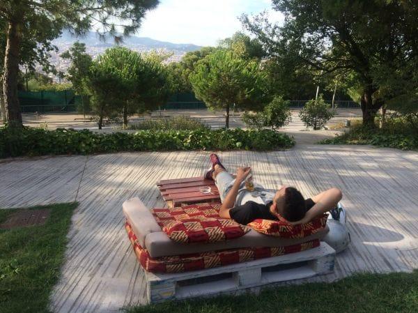 'El Cims' in Montjuic – Nature, views and peace
