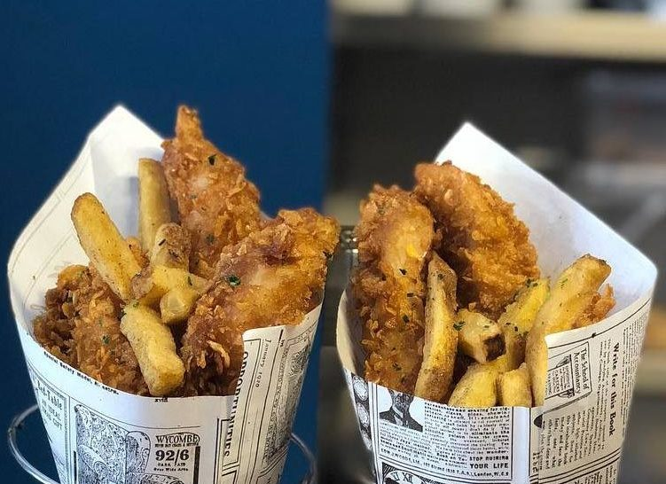 Fish and Chips Shop Barcelona