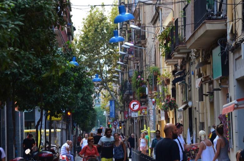 Mariá Aguiló street Barcelona