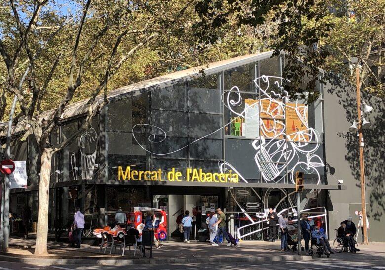 Mercat de l'Abaceria Barcelona