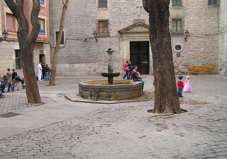 Plaça Sant Felip Neri Barcelona