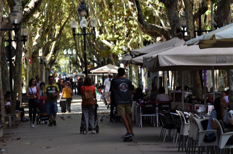 Rambla Poblenou Barcelona