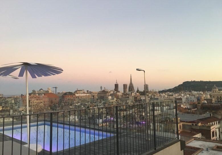 Yurbban Trafalgar Hotel Rooftop Barcelona