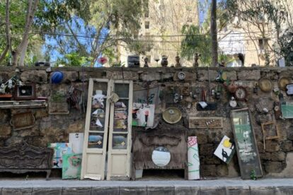 Toufic's Wall of Things Beirut