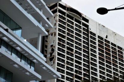 Holiday Inn Beirut – War-abandoned hotel