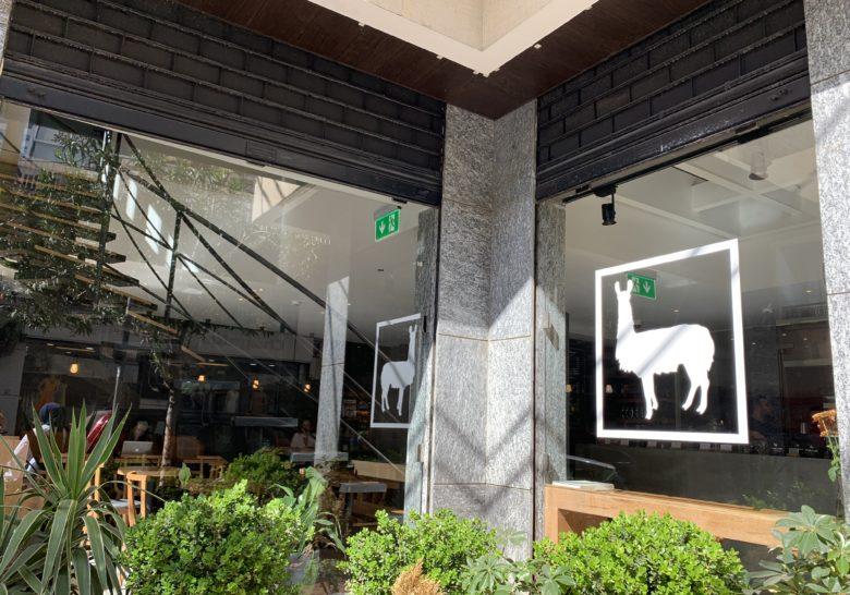 The High Llama Coffee Shop Beirut