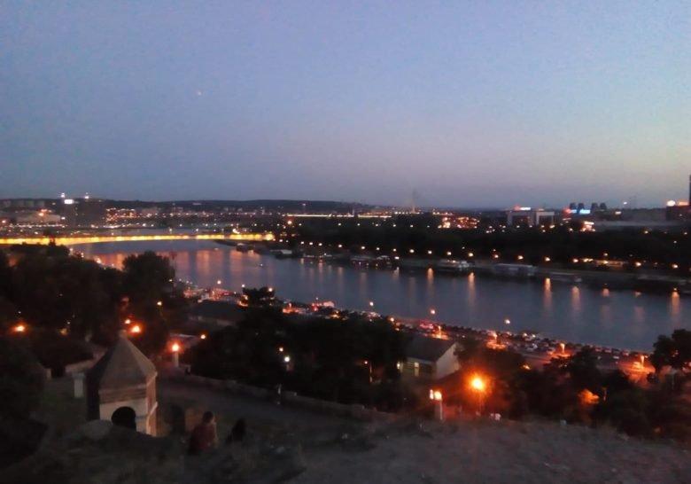 Kalemegdan View Belgrade