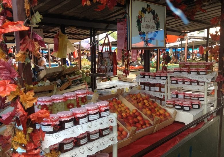 Kalenić green market Belgrade