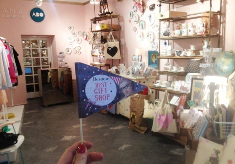 Remake gift shop Belgrade