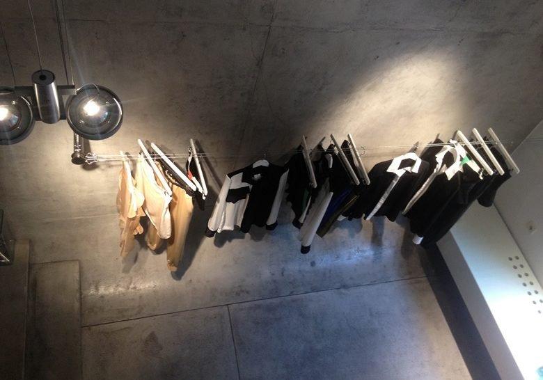 Tamara Radivojević showroom – Silk and concrete