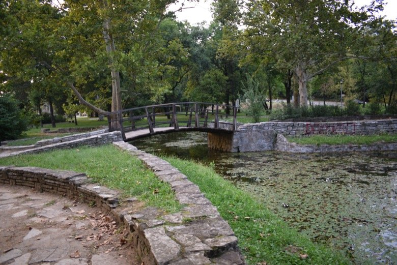 Topčiderski Park Belgrade