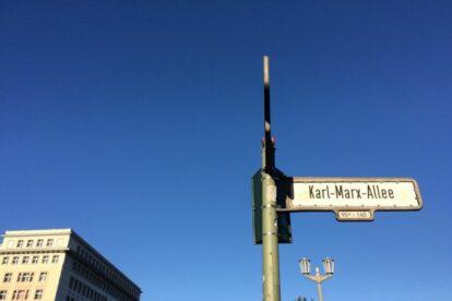 Karl Marx Allee – Stroll down a socialist time warp