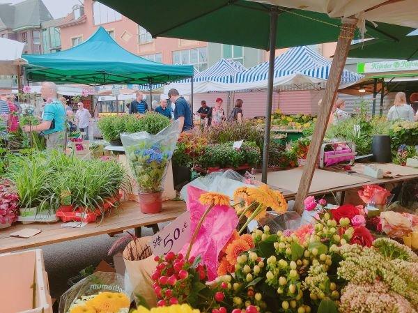 Kranoldplatz Market Berlin