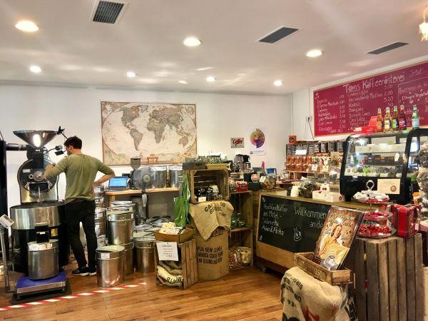 Toms Kaffeerösterei Berlin