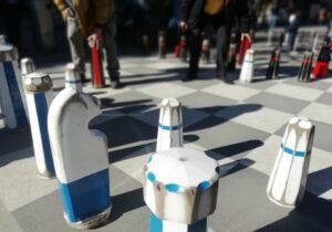 Schachspiel Bärenplatz Bern