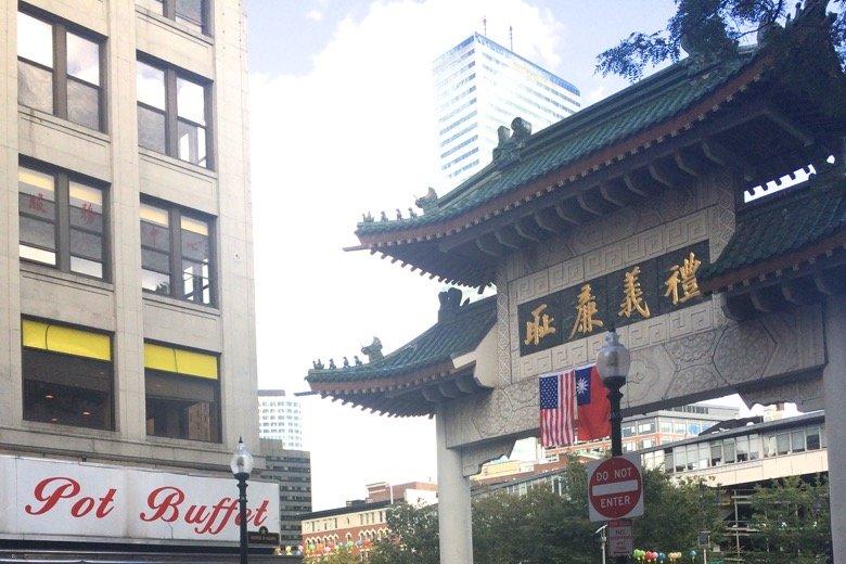 Boston Chinatown Boston