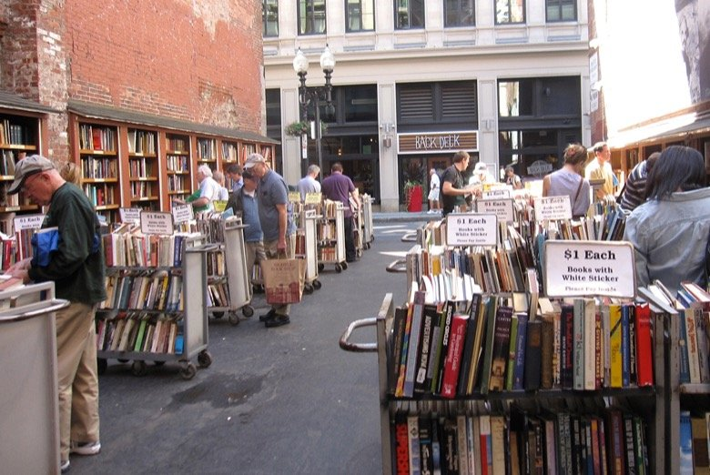 Brattle Bookshop Boston
