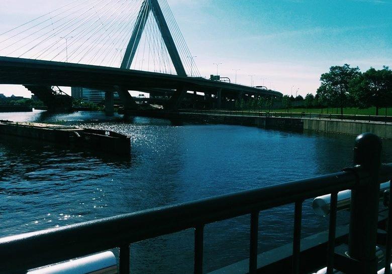 Charles River Dam Boston