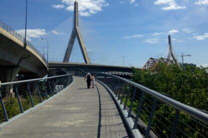 North Bank Bridge Boston
