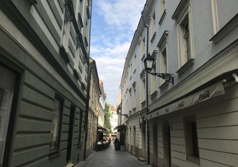 Biela Street Bratislava