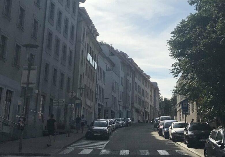 Zámocká Street Bratislava