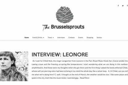 The Brusselsprouts blogs