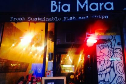 Bia Mara – Mouthwatering fish and chips