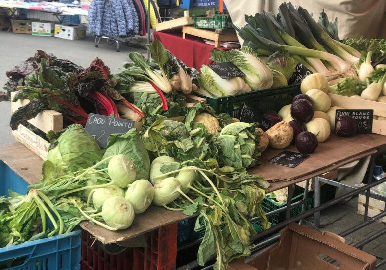 Boitsfort Market Brussels